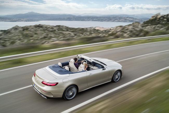 Mercedes Classe E Cabriolet : les tarifs