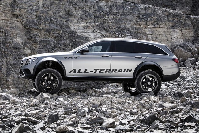 One-off Mercedes-Benz Classe E All-Terrain 4x4²