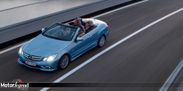 Nouveau Mercedes Classe E Cabriolet