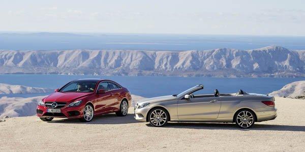 Mercedes E Coupé et Cabriolet restylés