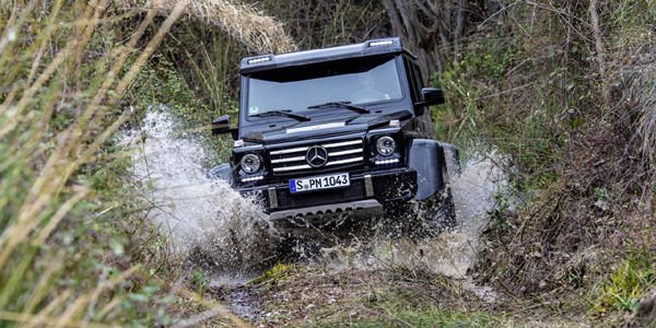 Le Mercedes G 500 4x4² entre en production