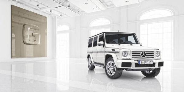Programme designo manufaktur pour le Mercedes Classe G