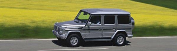 Mercedes relance le Classe G !