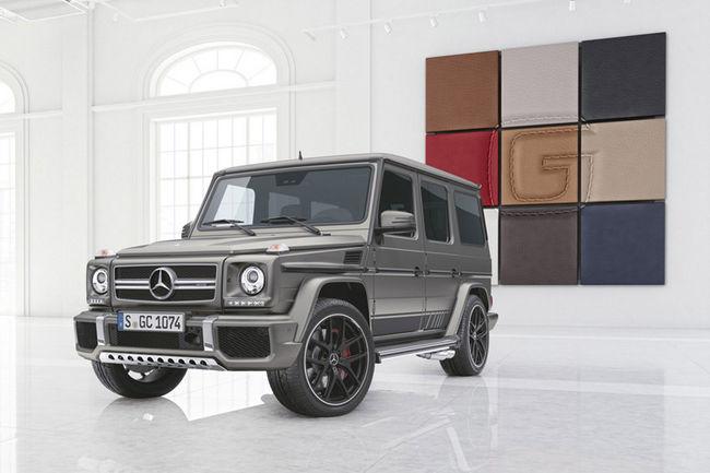 Mercedes Classe G éditions spéciales