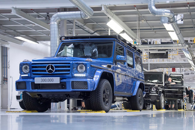 Production : le Mercedes Classe G franchit un nouveau cap