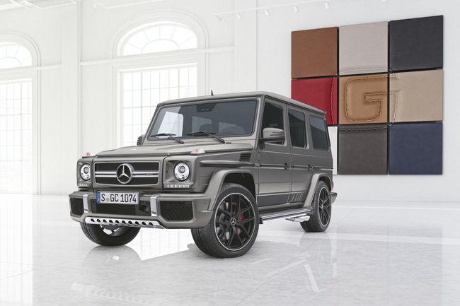 Mercedes-AMG G 63 et G 65 Exclusive Edition