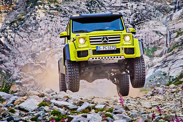 Fin de production imminente pour le Mercedes G500 4x4²