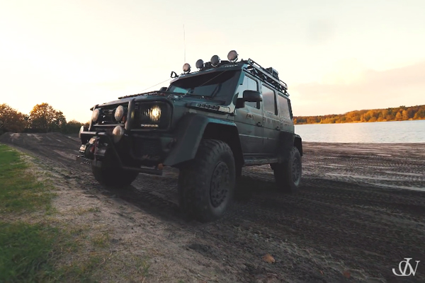Mercedes-Benz G500 4×4² : le nouveau jouet de Jon Olsson