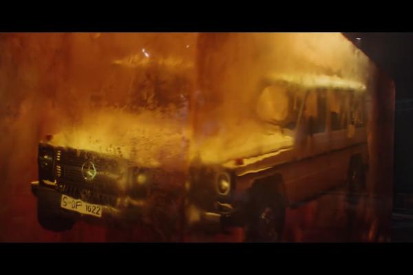 Un teaser annonce l'arrivée du nouveau Mercedes Classe G