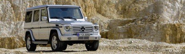 Mercedes Classe G : toujours vert !