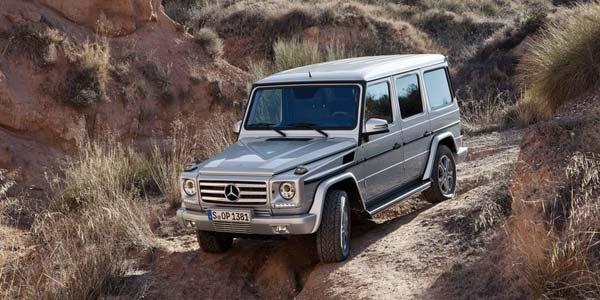Le Mercedes Classe G s'offre un lifting