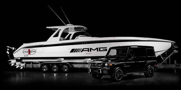 Un bateau à l'image du Classe G AMG