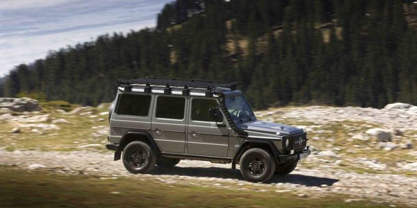 Des Mercedes Classe G pour l'armée suisse