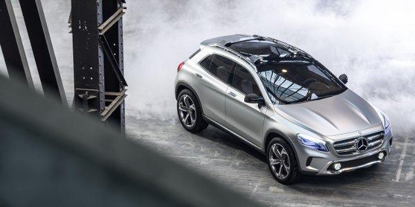Mercedes dévoile son GLA à Shanghaï