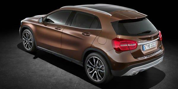 Le Mercedes GLA débute à 30 400 €