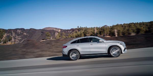 Mercedes-AMG lève le voile sur son GLE63 Coupé