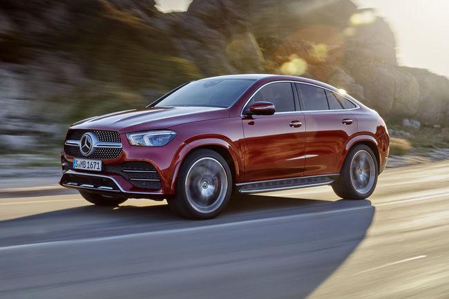 Nouveaux Mercedes GLE Coupé et AMG GLE 53 4MATIC+ Coupé