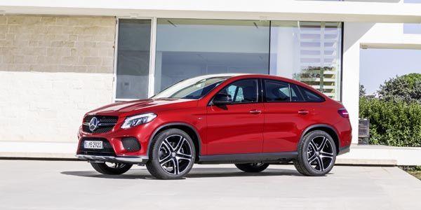 Nouveau Mercedes GLE Coupé