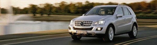 Lifting pour le Mercedes Classe M