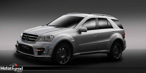 Mercedes EX ML Expression Motorsport