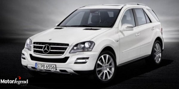 Mercedes  ML Gran Edition : touche AMG