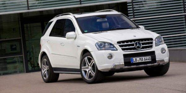 Un facelift pour la Mercedes ML63 AMG