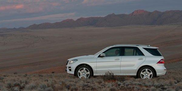 Nouveau Mercedes ML, dans la continuité