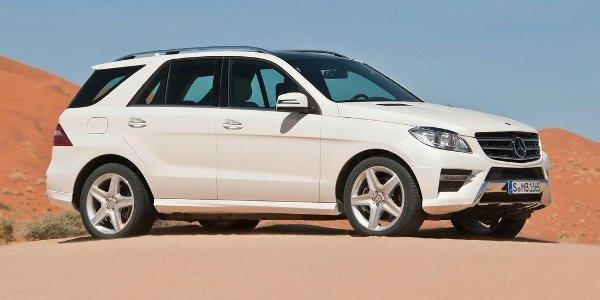 Mercedes ML 2011, des prix stationnaires