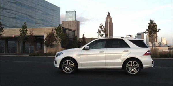 Mercedes-Benz ML 63 AMG, première vidéo