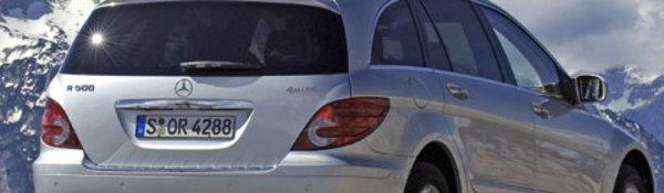 La Mercedes Classe R révise ses gammes