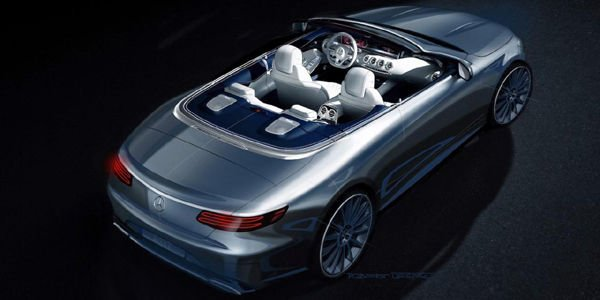 Mercedes tease sa future Classe S Cabriolet