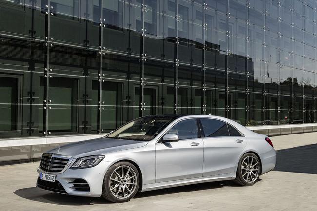 Nouvelle Mercedes Classe S