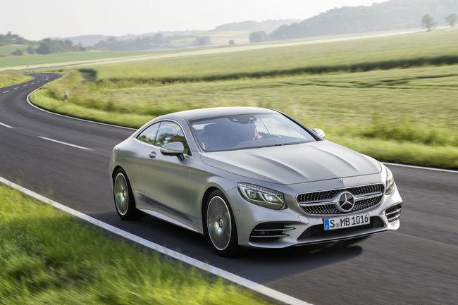 Nouvelles Mercedes-Benz Classe S Coupé et Cabriolet