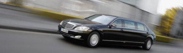 S 600 Pullman : la Mercedes des rois