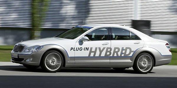 Une Mercedes Classe S électrique ?