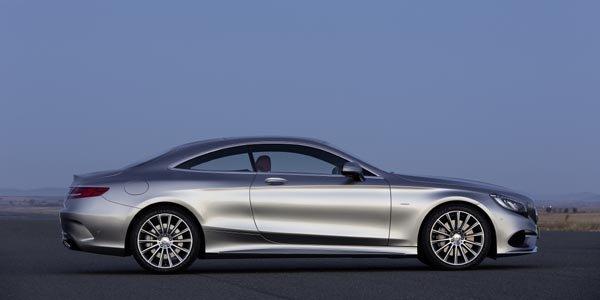 La Mercedes Classe S Coupé se dévoile