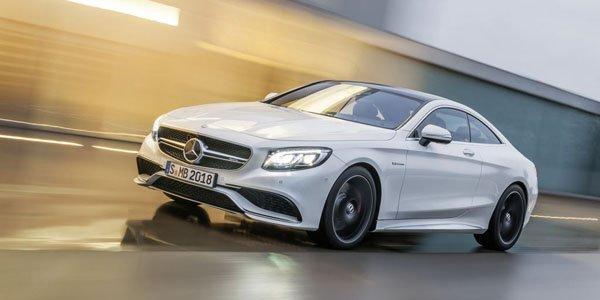 New-York 2014 : Mercedes S Coupé 63 AMG