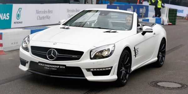 Mercedes-AMG SL63 World Championship Collectors Edition