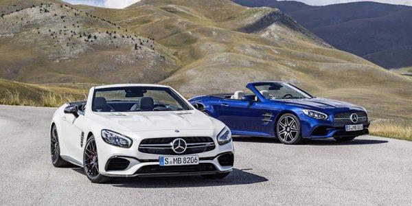 Les Mercedes SL passent au restylage