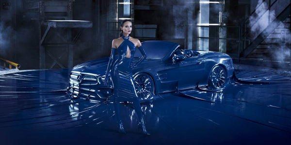 Un spot très fashion pour la Mercedes-Benz SL