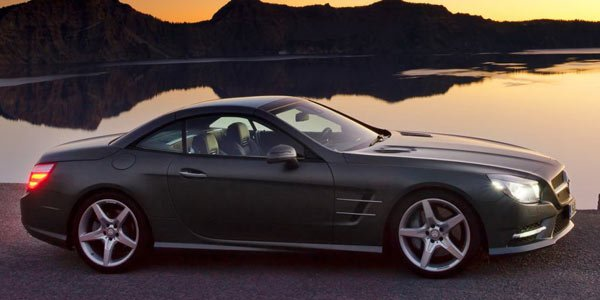 Le nouveau Mercedes SL dévoilé