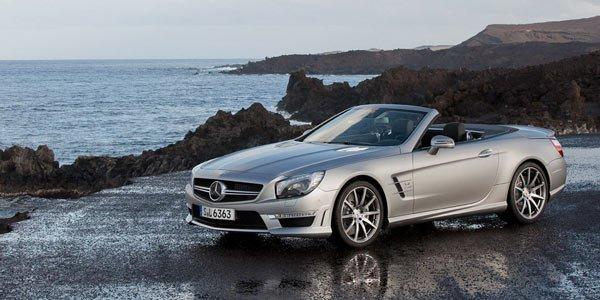 Mercedes présente le SL63 AMG