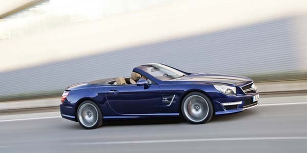 La Mercedes SL 65 AMG officielle