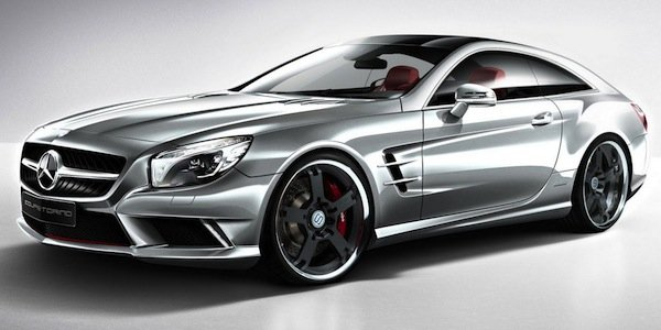 Mercedes SL CoupeTorino