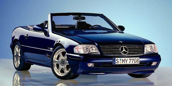 La Mercedes SL R129 fête ses 25 ans