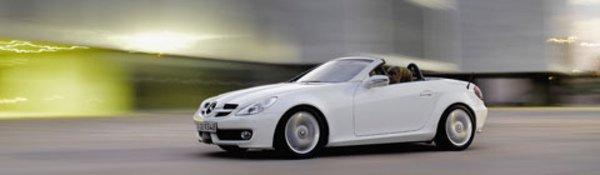 La Mercedes SLK s'offre un restylage