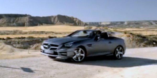 La Mercedes SLK dévoilée par erreur