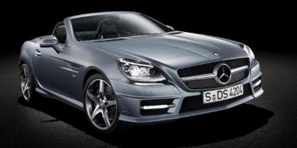 Nouveau Mercedes SLK roadster