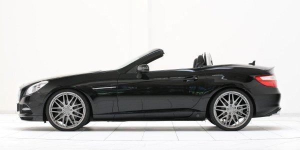 Brabus rectifie le nouveau Mercedes SLK