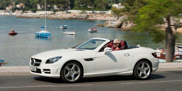 Mercedes SLK 250 CDI, roadster diesel